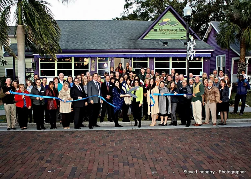 Ribbon Cutting Celebration of our New Location in Historic Downtown Punta Gorda!